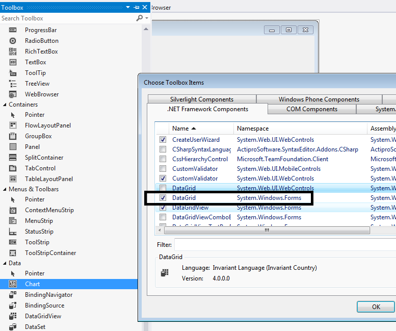 Nested Datagrid in C# winforms