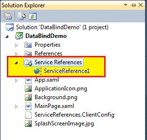 Data Binding in Windows Phone 7 Using WCF Service