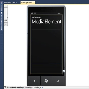 MediaElement Control in Windows 7 Phone Development