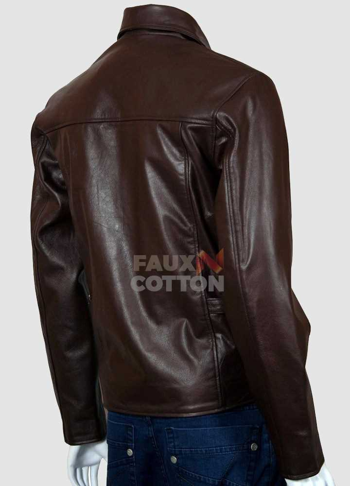 Indiana Jones Brown Leather Jacket