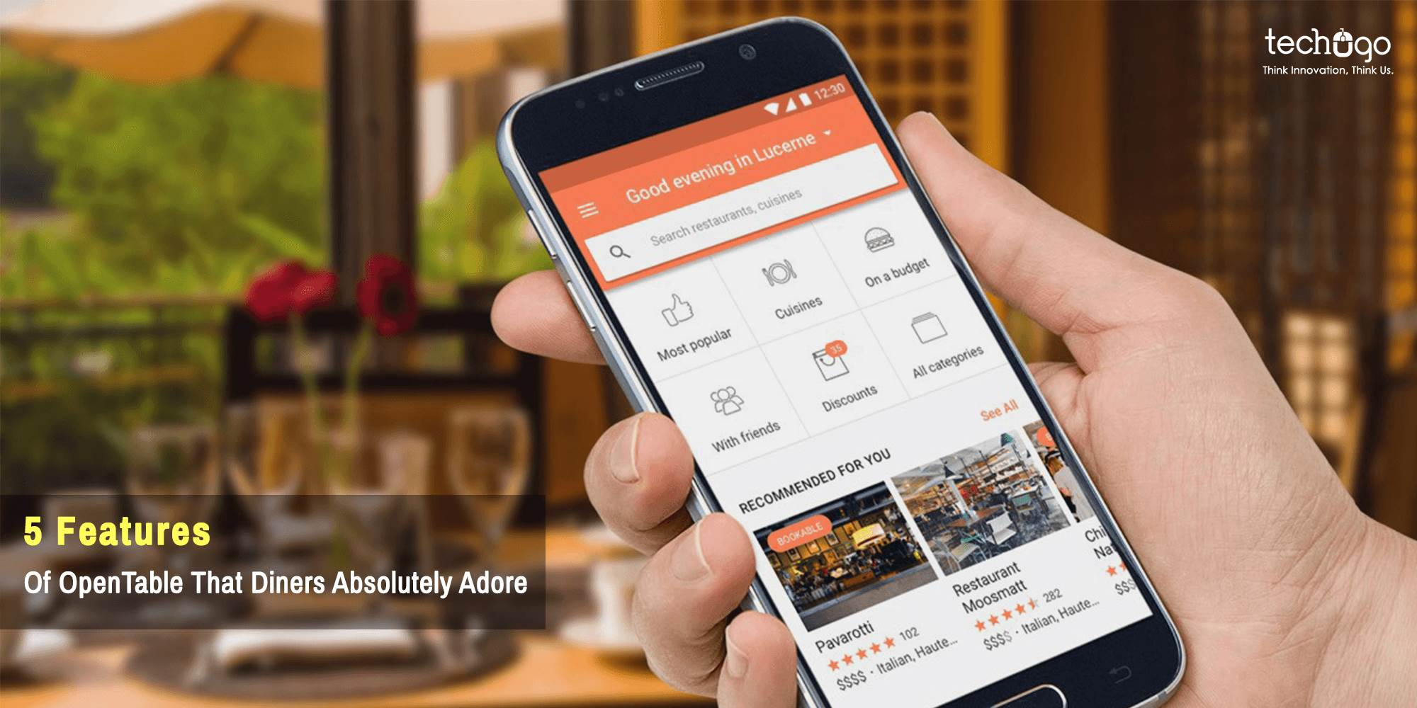 5 Features Of OpenTable That Diners Absolutely Adore