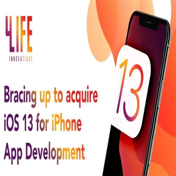 4Life Innovations is bracing up to acquire iOS 13 for iPhone App Development