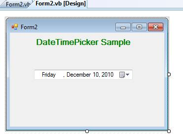 jquery date and time picker example code