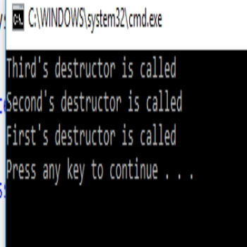 What is destructor in C# and Working?