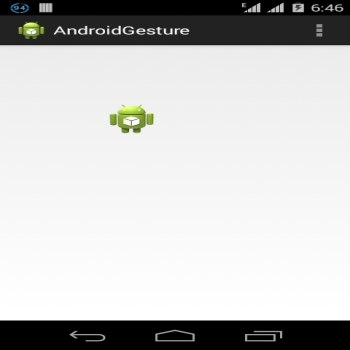 Gesture in Android