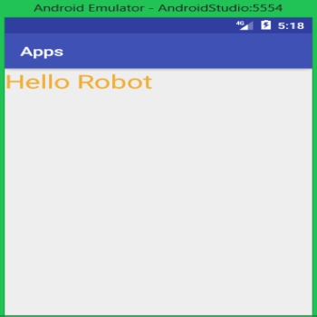 Text View in android