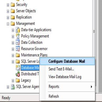 Database Mail in SQL Server