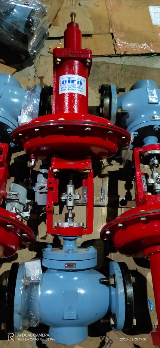 Control Valve working Process and Safety Features