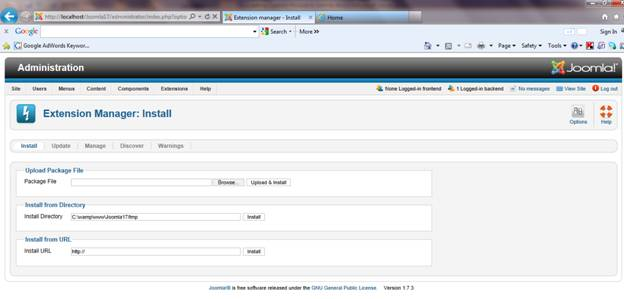 Creating Custom Module in Joomla