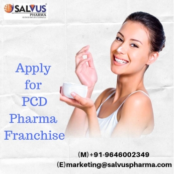 Choose Salvus Pharma for Pharma Franchise for Derma Range Products
