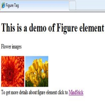 Figure element in HTML5