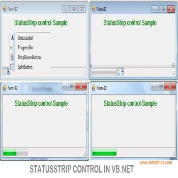 StatusStrip Control in VB.Net