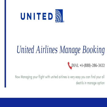 How do i manage my booking on united airlines?