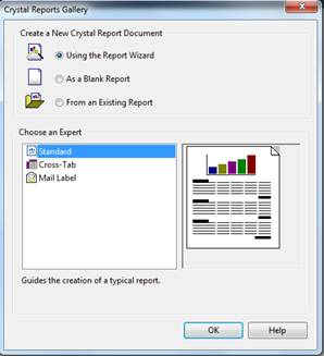 Creating Crystal Report in C#.Net