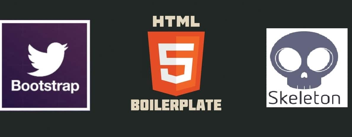 3 open source boilerplate web design templates