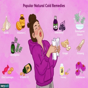 Natural Home Remedies for Fast Cold & Flu Relief