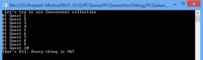 Concurrent Collections in C#