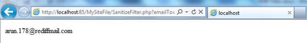 PHP Filter