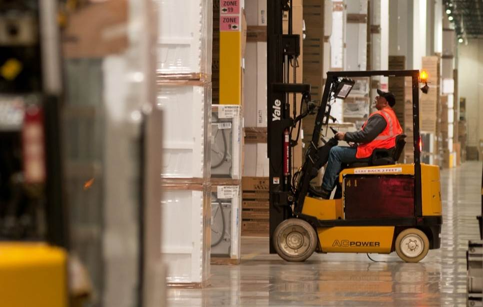 7 different types of forklifts
