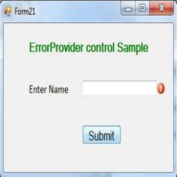 ErrorProvider Control in VB.Net