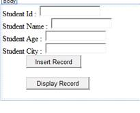 Inserting Records in Table by Using Web Services