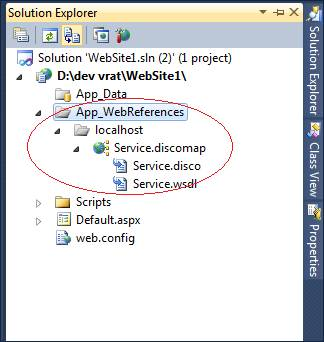 Web Services in .Net