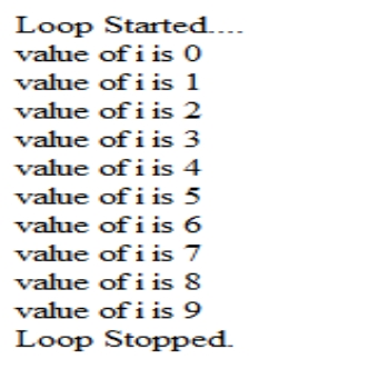 The while loop in JavaScript