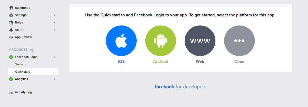 Steps for Facebook Login in android.